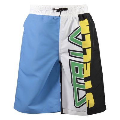 Costume shorts color block in nylon